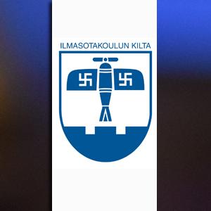Ilmasotakoulun Kiltan logo